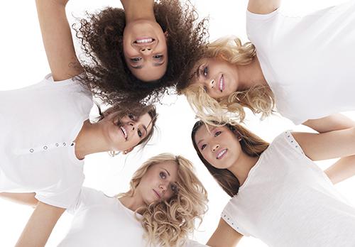 Boss Beauty Bar Team in a circle