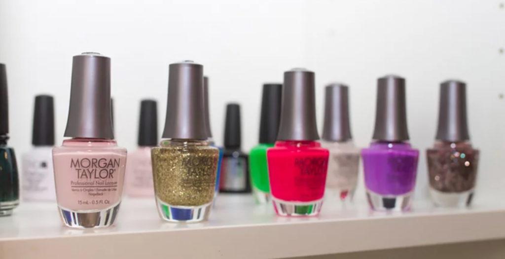 Eco friendly nail polish at Boss Beauty Bar