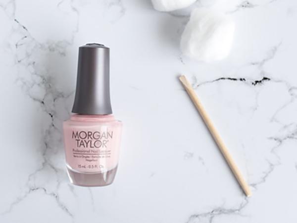 Boss Beauty Bar Pink Nail Polish and nail board